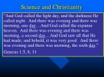 science and christianity27