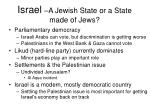 israel a jewish state or a state made of jews