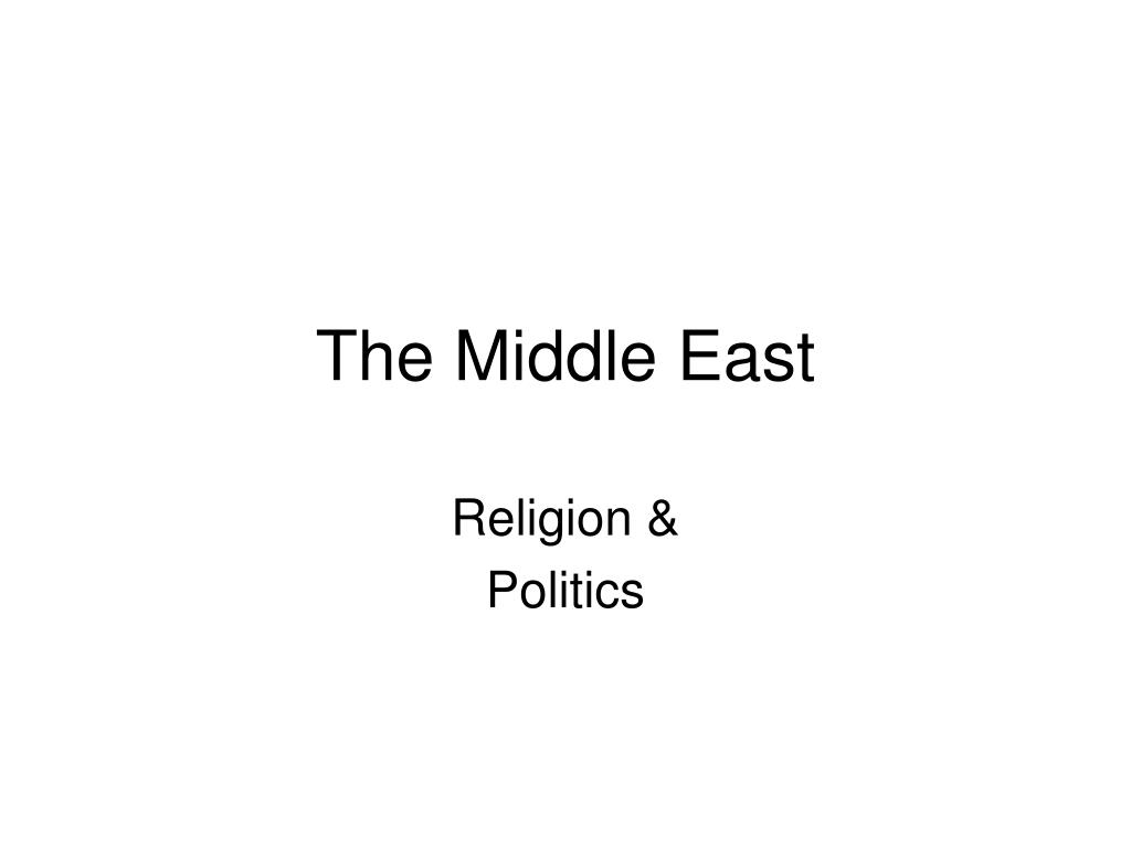 the middle east l.