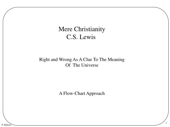 mere christianity write and wrong as Why cs lewis is wrong on marriage in much of his writing  the quote from mere christianity points something out that i feel completely missing from the.