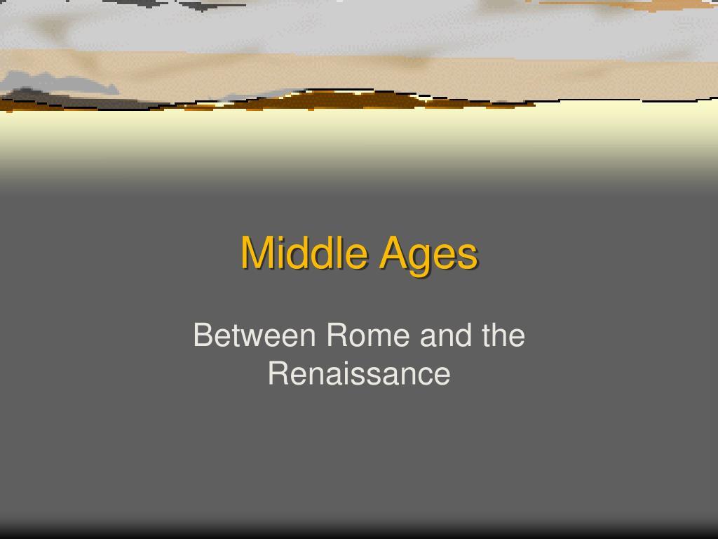 middle ages l.