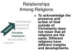 relationships among religions9