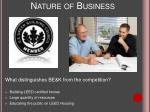 nature of business2