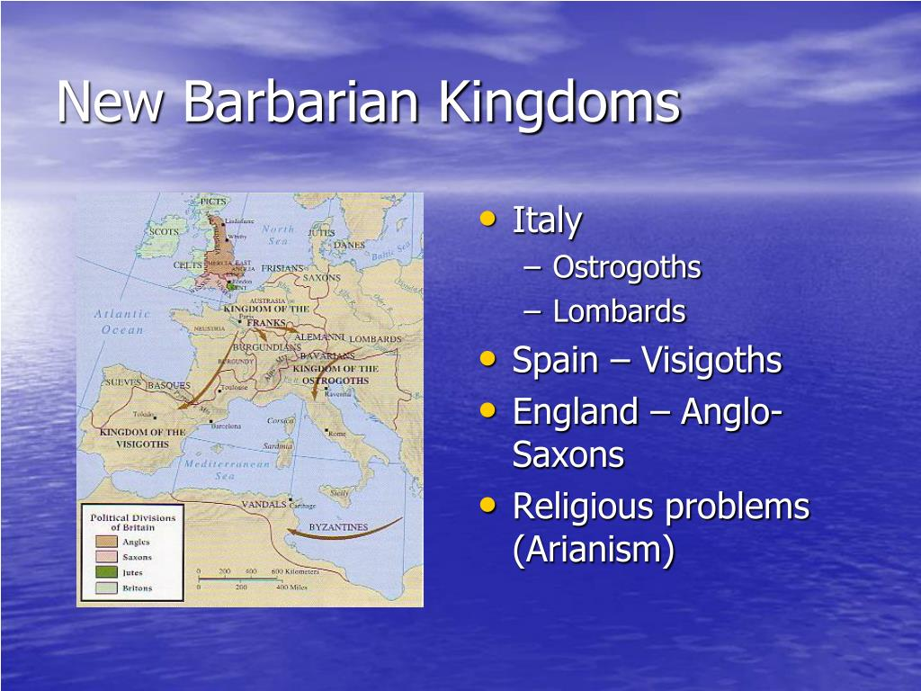 New Barbarian Kingdoms
