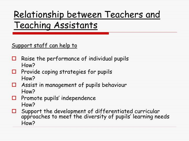 relationship between headteacher and teachers The relationship between headteachers' distributed leadership practices and teachers' motivation in national primary schools.