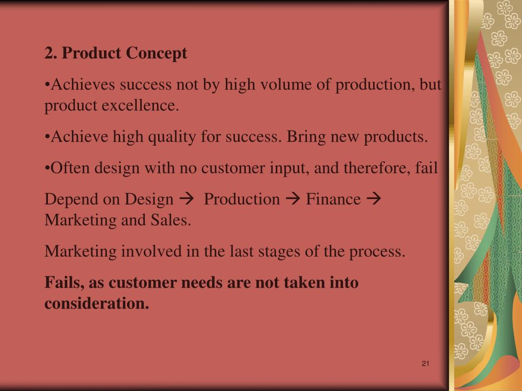 2. Product Concept