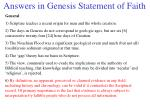 answers in genesis statement of faith