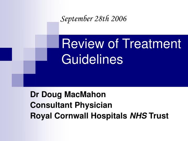 Dr doug macmahon consultant physician royal cornwall hospitals nhs trust