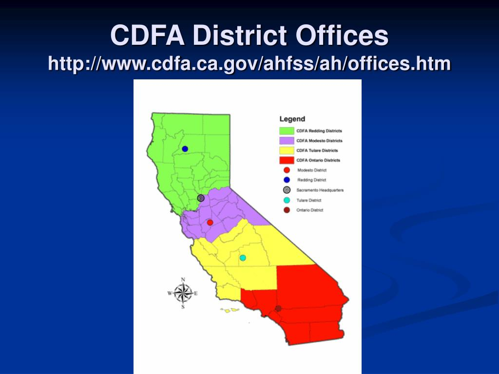 CDFA District Offices