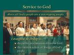 service to god37