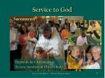 service to god40