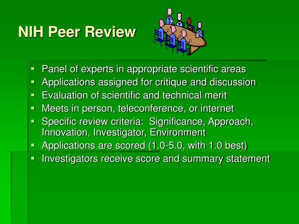 NIH Peer Review