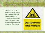3 what chemicals cause illnesses