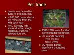 pet trade