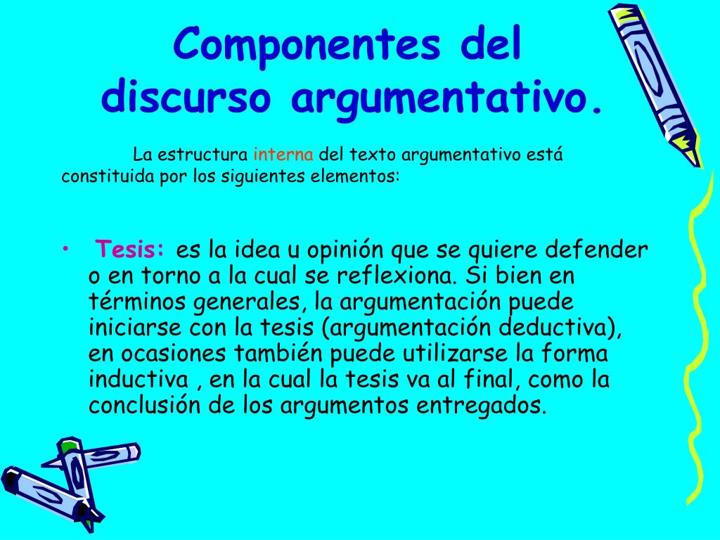 Ppt Discurso Argumentativo Powerpoint Presentation Free