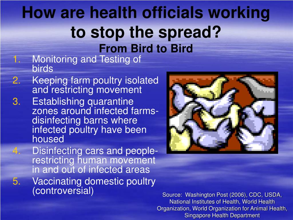 How are health officials working to stop the spread?