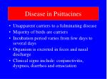 disease in psittacines