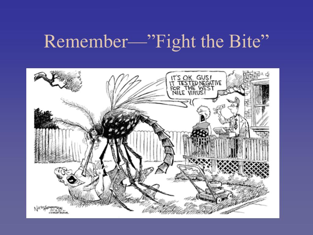 "Remember—""Fight the Bite"""
