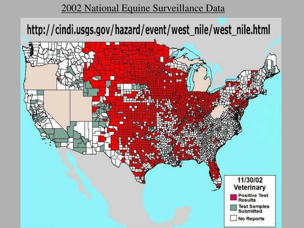 2002 National Equine Surveillance Data