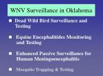 wnv surveillance in oklahoma20