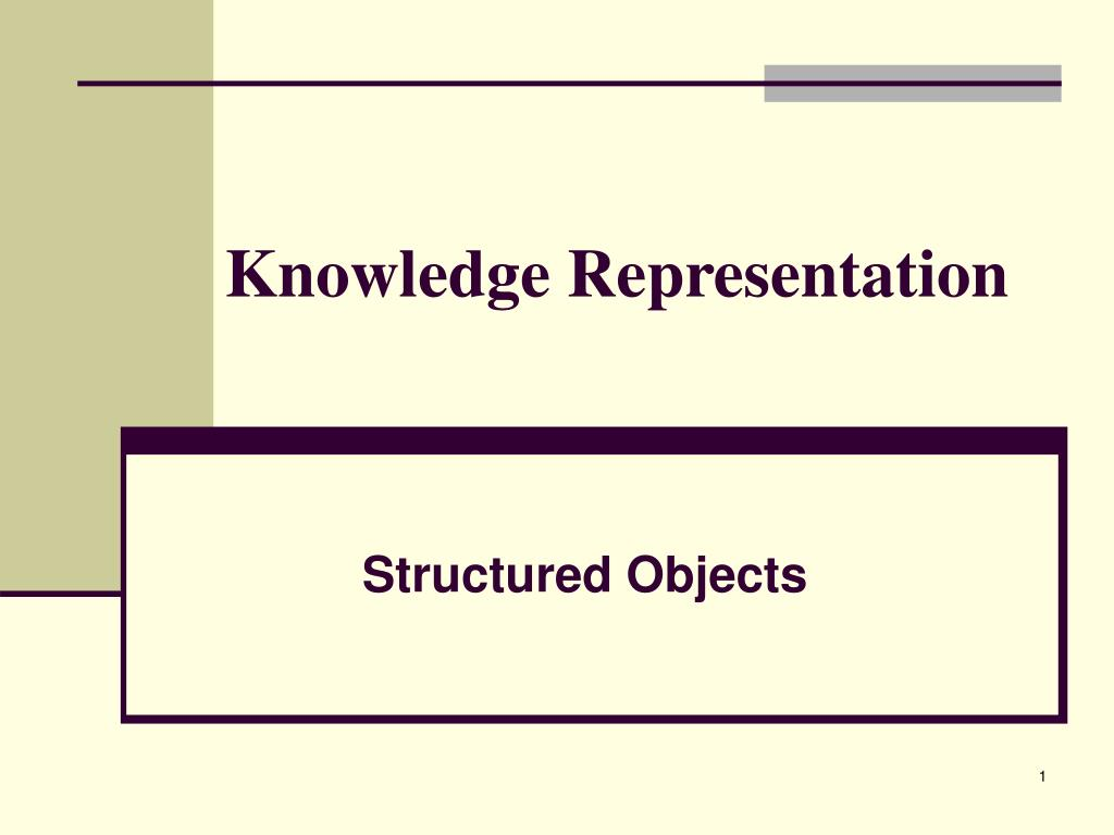 knowledge representation l.