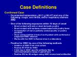 case definitions58