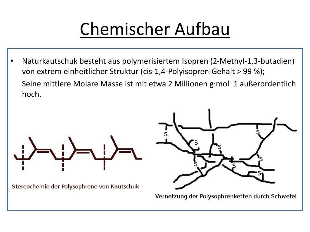 Chemischer Aufbau