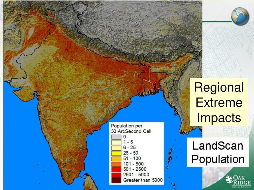 Regional Extreme Impacts