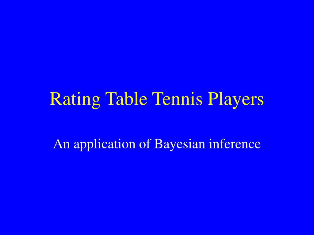 rating table tennis players l.
