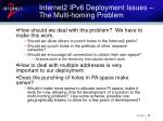 internet2 ipv6 deployment issues the multi homing problem28