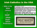 irish catholics in the usa