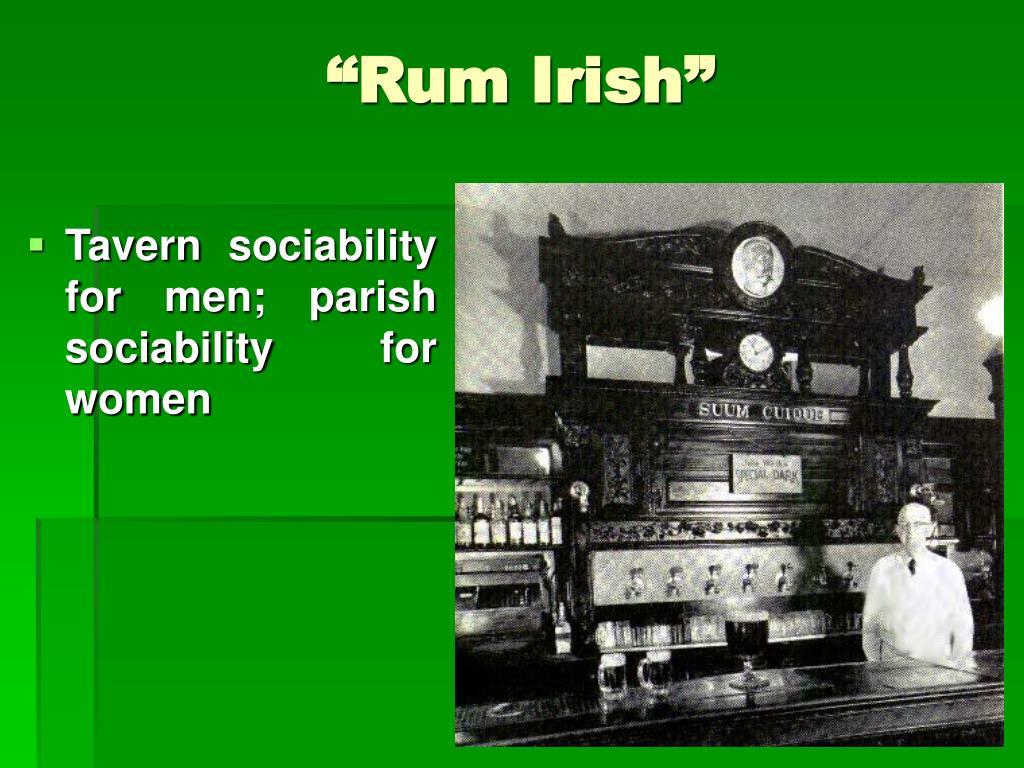 """""""Rum Irish"""""""