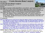 cracks threaten rome s majesty