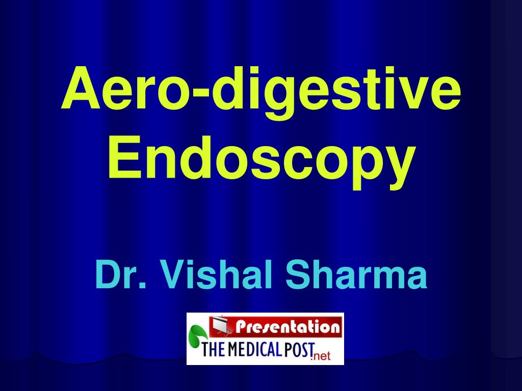 aero digestive endoscopy l.