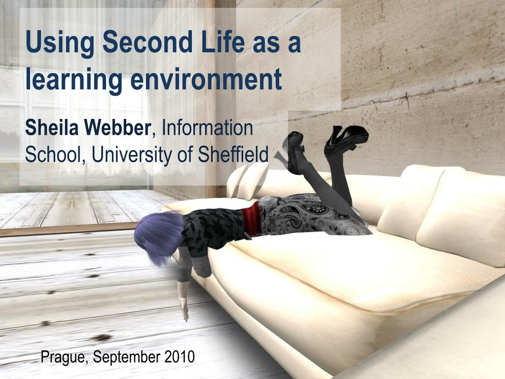 using second life as a learning environment l.
