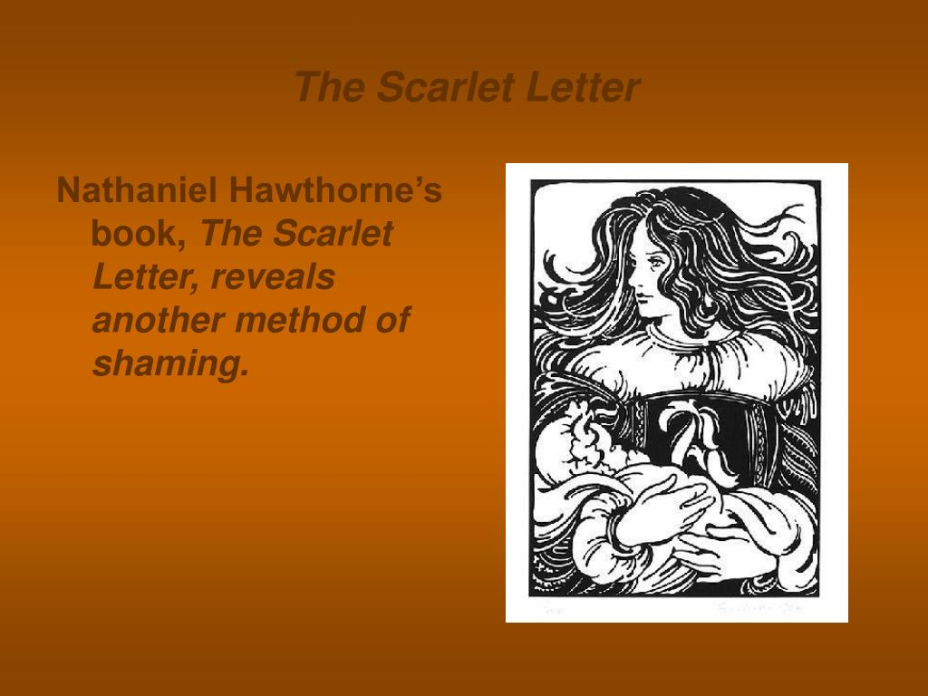 the puritan fear of change in nathaniel hawthornes the scarlet letter