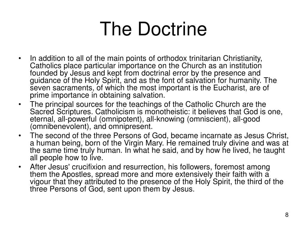 The Doctrine