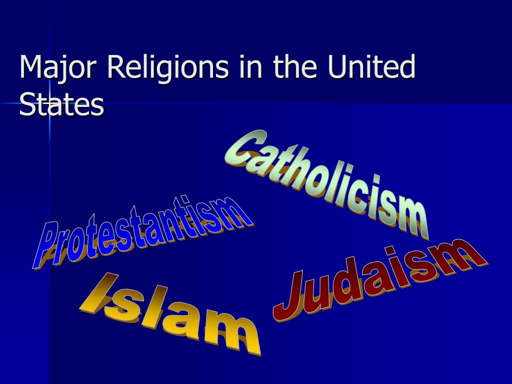 Major Religions in the United States