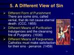 5 a different view of sin