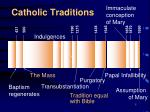 catholic traditions