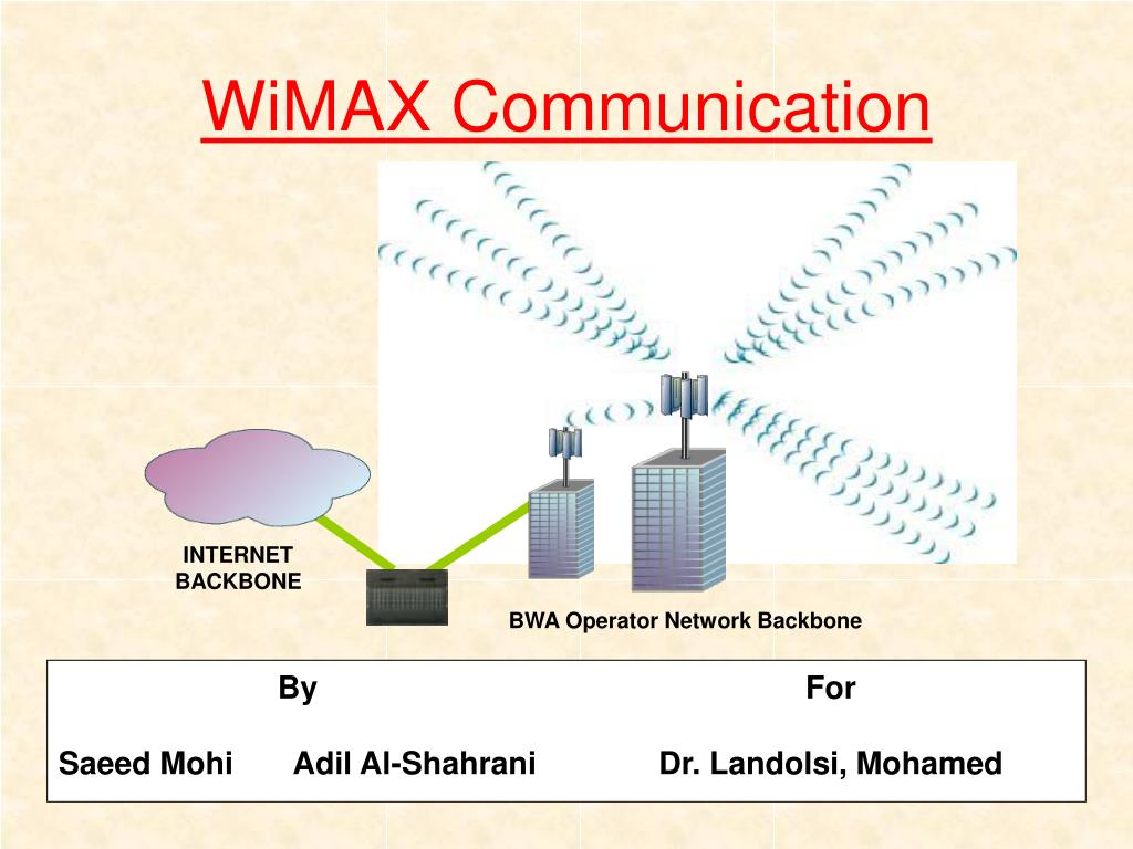 wimax communication Click here to download: •product brochure: r&s cmw270 wimax communication tester •datasheet: r&s cmw270 wimax communication tester the r&s ® cmw270 is the ideal test solution for integrated wireless communications solutions as used in laptops, netbooks, game consoles, data cards and wireless headsets.
