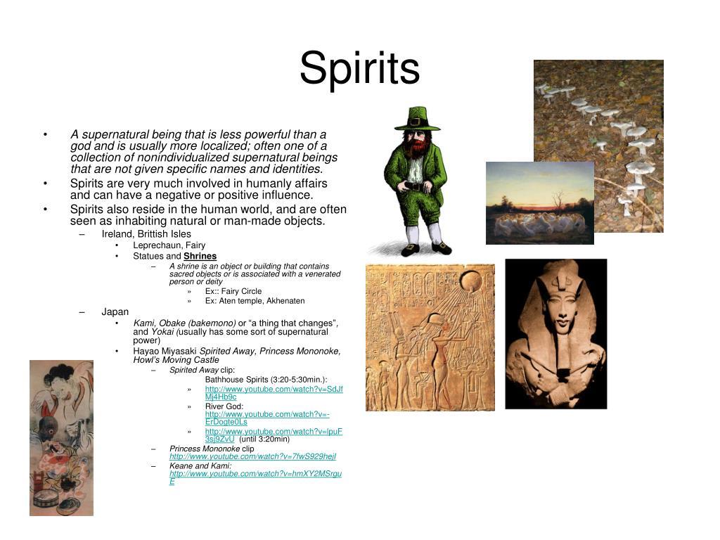 spirits l.