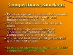 competitions knockout4
