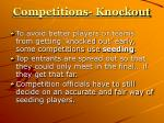 competitions knockout5