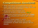 competitions knockout8