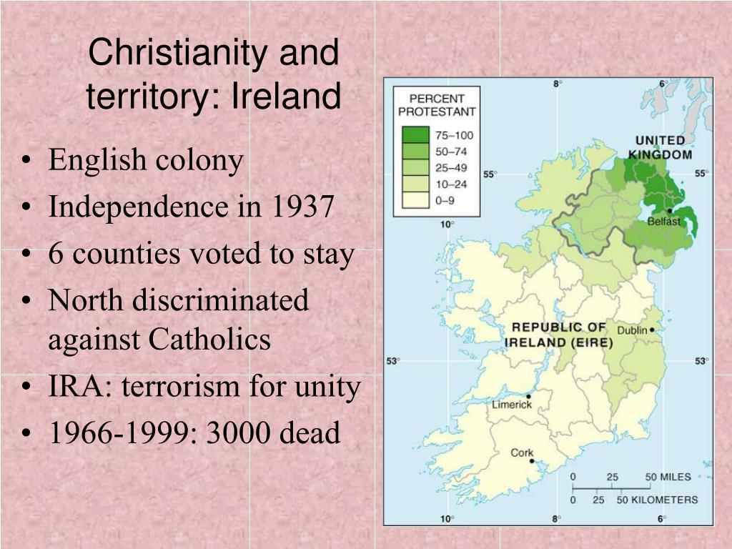 Christianity and territory: Ireland