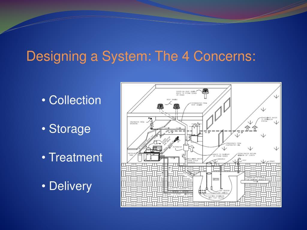 Designing a System: The 4 Concerns: