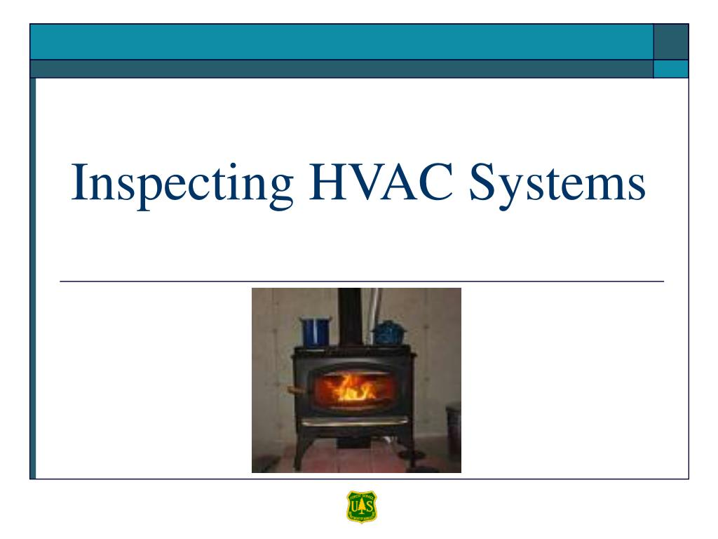 Inspecting HVAC Systems