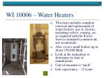 wi 10006 water heaters