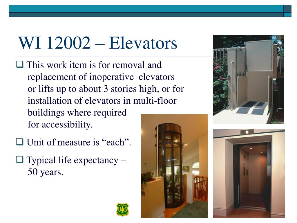 WI 12002 – Elevators